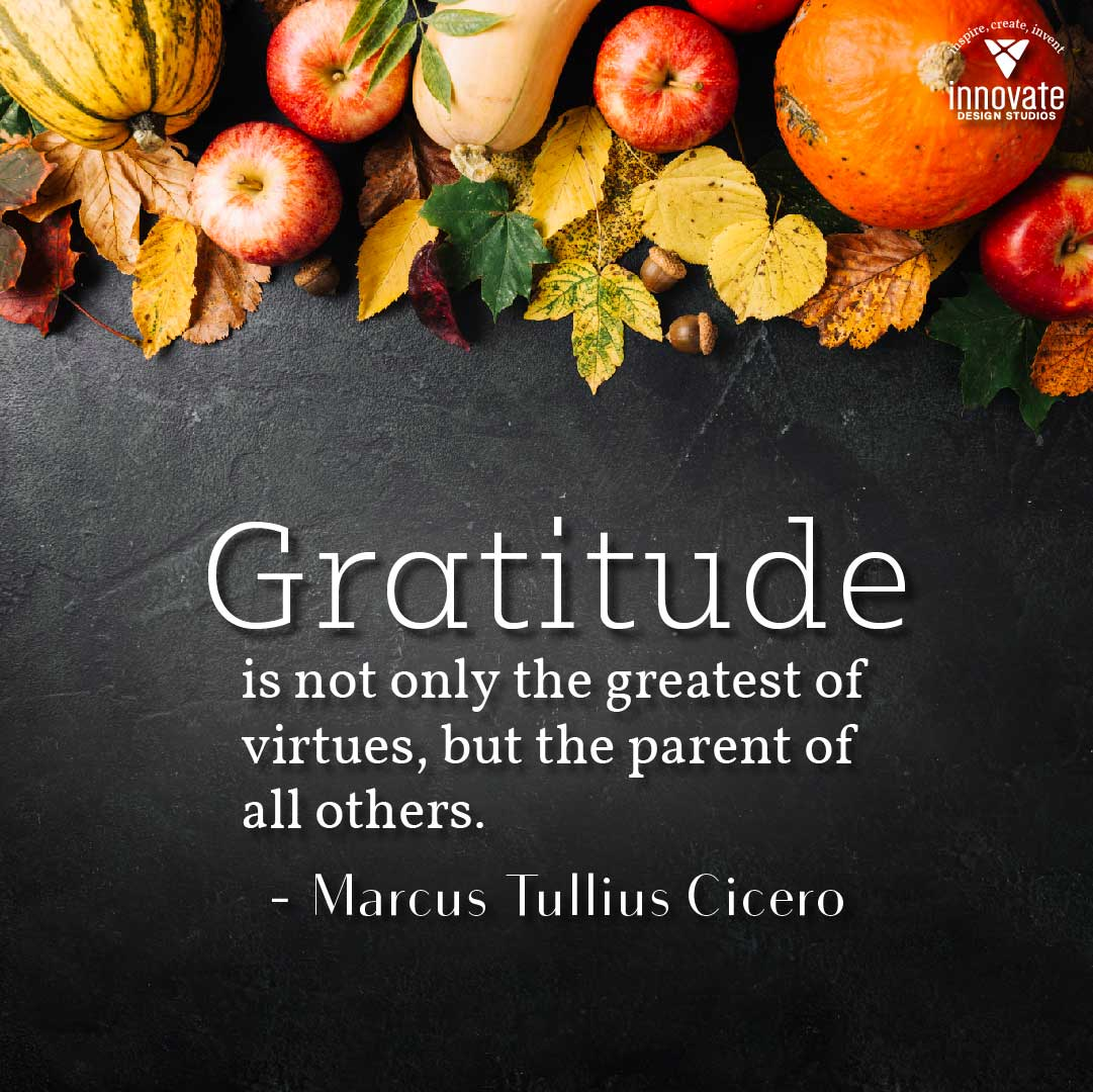 Innovate Today: Gratitude