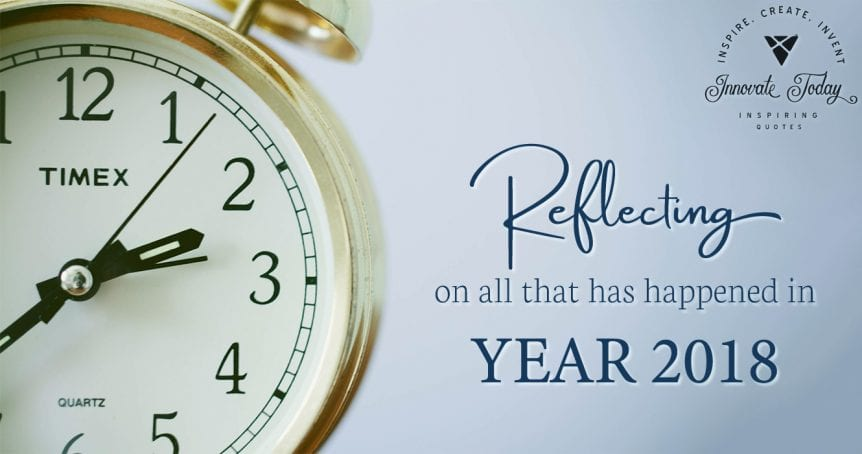 Reflecting on Year 2018