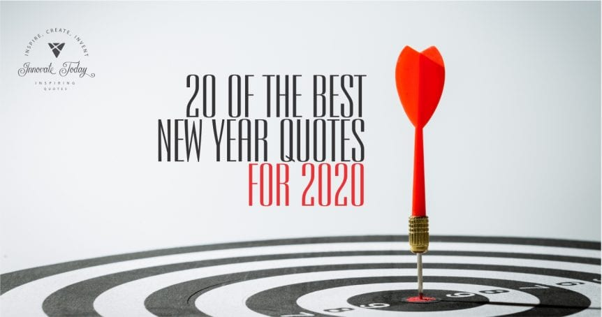 Twenty of the Best New Year Quotes for 2020